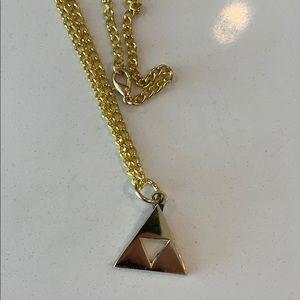 Jewelry - Zelda triforce necklace